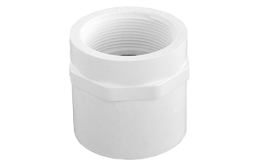 Novakey PVC-U Pressure Faucet Coupling Solvent Cement x BSP Joint F&F