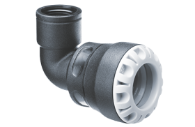 Plasson Series 1 90° Female Threaded Adaptor F&F