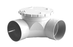 Stormfit PVC-U Stormwater Access Bend Solvent Cement Joint F&F