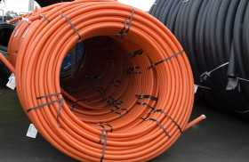 Polyethylene Flexible Electrical Cable Duct SDR17 - Coiled
