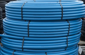 Blueline PE80 Pressure Pipe Light Blue PN12.5