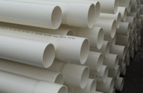 White Rhino PN15 PVC-M Pressure Pipe Metric Pipe Series 1 Rubber Ring & Solvent Cement Joint